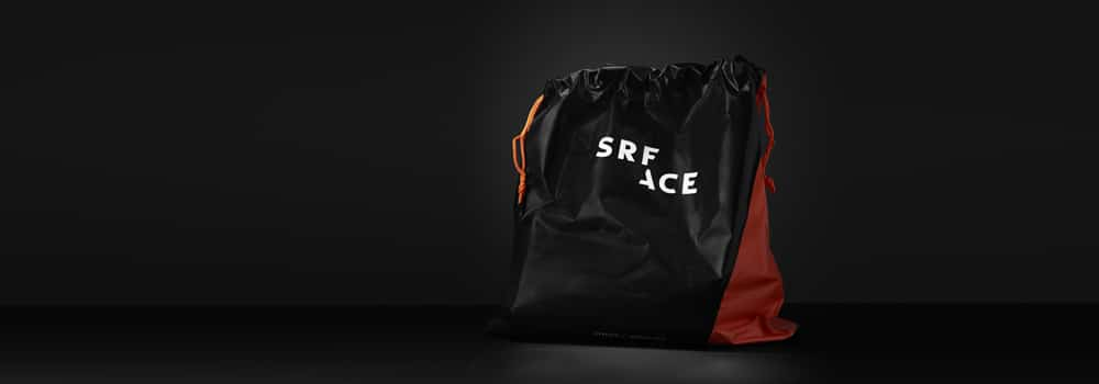 SRFACE recycled wetsuit bag - wetsuit care