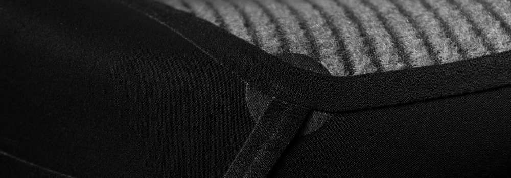 SRFACE wetsuit inside lining with neotape and reinforcement Melco patch