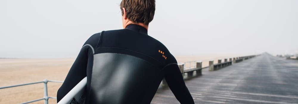 Single lined and double lined SRFACE wetsuit